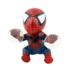Cute Car Mirror Windshield Dashboard Spiderman Doll Suction Cups Decorative Toy