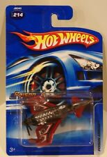 Hot Wheels 2006 Poison Arrow #214 Dark Red Plane Airplane Old Card