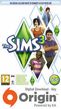 THE SIMS 3 PC AND MAC ORIGIN KEY