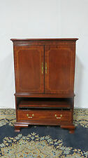 Councill Armoire Tv Cabinet Entertainment Center Mahogany