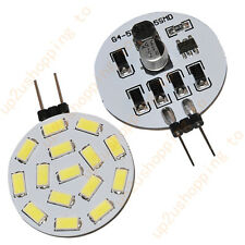 White G4 15 5630 SMD LED Home Spotlight Spot Light Bulb 12V 24V AC 480-525LM