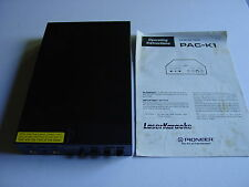 Pioneer LaserActive Karaoke unit pack PAC-K1 with manual good condition