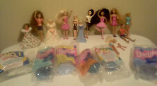 LARGE LOT OF MISC McDONALD'S BARBIE DOLL TOYS