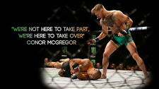 "TY04461 Conor McGregor - Irish MMA UFC Featherweight Champion 25""x14"" Poster"
