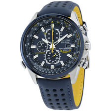 "Citizen ""Blue Angels World A-T"" Eco-Drive Chronograph Men's Watch AT8020-03L"