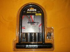 "NIB ABUS U-Lock Bike Lock 4&1/4"" inside 2 keys"