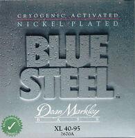 Dean Markley Blue Steel NPS Nickel Plated bass guitar 4/5 strings sets