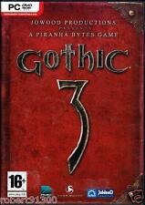 JEU PC DVD ROM../...GOTHIC 3........