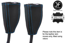 Blue tale 2x Anteriore Cintura in pelle copre si adatta a RENAULT GRAND SCENIC 04-09