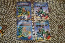 Mini Comic books set of 4 Masters of the Universe he-man Lot vintage 4