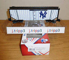 LIONEL 6-83758 NEW YORK YANKEES JERSEY BOXCAR TRAIN CAR O GAUGE MLB BASEBALL USA