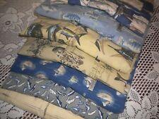 Columbia Shirt Lot of 7 S/S Ocean Sea Fishing Fisherman Sword Fish Marlin L R570