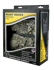 Woodland Scenics Ready Rocks Faces Ballast Scale Model Scenery RR Diorama Mini
