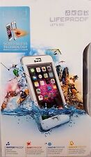 "Authentic Lifeproof Nuud Waterproof Case For iPhone 6 Plus (5.5"") Black/White"