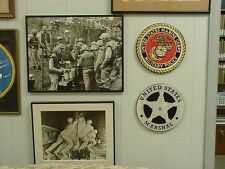 Military Police, USMC Award/Recognition Wall Plaque, MINT, Circular Boxed Mint