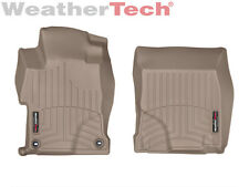 WeatherTech® FloorLiner for Honda Civic Sedan - 2014-2015 - 1st Row - Tan
