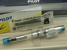 "Pilot (NAMIKI) Japanese FP ""PRERA iro-ai"" Transparent F-nib Clear Light Blue"