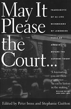 May It Please the Court - Supreme Court Oral Arguments (Irons & Guitton) + MP3CD