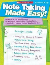 Note Taking Made Easy!: Strategies & Scaffolded Lessons for Helping All Students