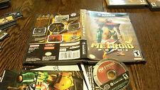 Metroid Prime BLACK LABEL (Nintendo GameCube, 2004) USED VIDEO GAME WITH MANUAL