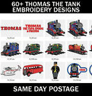 60+ Thomas The Tank Engine Machine Embroidery PES Design Images On CD