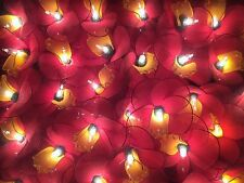 Handmade Red & Yellow Daffodil String Lights - Flower Fairy - Chinese New Year!