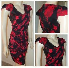 Guess Red & Black Casual Dress Sz.6 $118 NWT