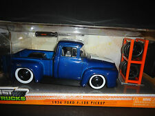 Jada Ford F100 1956 with stripe Just Trucks 1/24 Paint Defective No Return