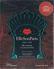 ELLE SON PARIS Elles chantent et enchantent Paris livre + 2 CD