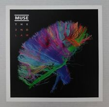 "Muse * The 2nd Law * Promo Poster Flat 12"" x 12"" rare limited"