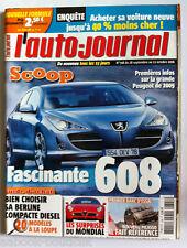 AuTO JOURNAL du 28/9/2006; Fascinante 608/ Acheter sa voiture 40% - chère