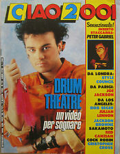 CIAO 2001 18 1986 Drum Theatre Peter Gabriel Sakamoto Style Council Cock Robin