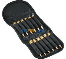 Hunting Bullet Holder 12 Round Rifle Cartridge Carrier Folding Rifle Ammo Bag