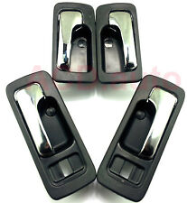 Fit For 90-93 Honda Accord Front Rear Left Right Inside Door Handle 4pcs NEW