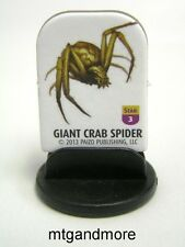 Pathfinder Battles Pawns / Tokens - #003  Giant Crab Spider - Shattered Star