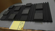 "3"" Thick Studio Acoustic Soundproofing Foam Tiles 24""x 48"""