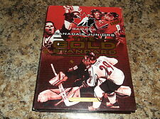 CANADA'S JUNIORS THE GOLD STANDARD 4 DVD BOX SET AUTOGRAPHED BY MARK MORRISON
