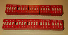 4 Way DIP switch Pack of 10