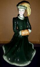 "Coalport John Bromley's Ladies of Fashion ""Harmony"" Ice Skating Figurine/Figure"