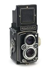 Rolleiflex 3.5B Replacement Cover - Laser Cut Recycled Leather