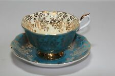 """Vintage Royal Albert """" Empress Series """"  Footed Cup and Saucer 1960-70 Fine Bone"""
