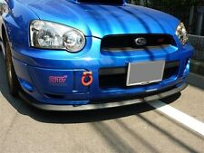 2 PCS 2004 2005 Subaru WRX STi Logo Front Lip Side Skirts Aluminum Badge Emblem
