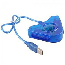 ADATTATORE CONVERTITORE JOYSTICK USB PS2 PLAYSTATION GIOCATORI JOYPAD PC PS 2