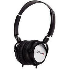 Groov-e DJ980 Lightweight DJ Style Swivel Over Ear Folding Monitor Headphones