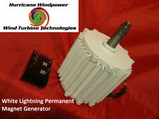 12 volt Permanent Magnet Alternator Wind Generator Hurricane 750 Super Amps