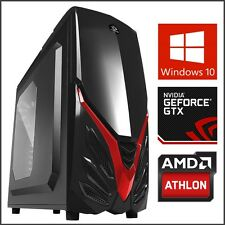 Gaming Computer Desktop PC Tower 3.9GHz 2TB HD 16GB RAM Geforce GT 730 Next Gen