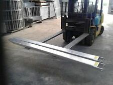 FORK EXTENSIONS FORKLIFT TYNES HEAVY DUTY SLIPPERS TINES FIT MOST