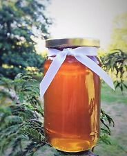 100% Raw Organic Honey from Mountain Wildflowers harvested summer 2016 1kg