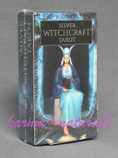 SILVER WITCHCRAFT Tarot Card Deck - by Lo Scarabeo - NEW Divination