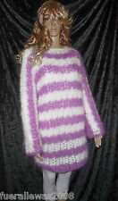 Handgestrickt pull tunique mohair mohair exclusivement L ~ xl Hand knitted sweater